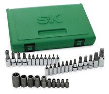 "SK Tools 19763 35 Pc. Torx Bit Socket Set 1/4"" 3/8"" & 1/2"" Drive"