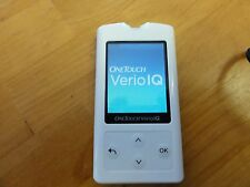 NEW--One Touch Verio IQ Blood Glucose Diabetic Meter (CASE, MONITOR, and CORD)