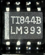 strip of 20 LM393DR surface mount dual  comparator 393 SO8  lm393 smd TI