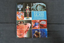 book - Etched Glass, Techniques & Designs, abrasive & chemical etching, 2006 ed.