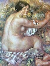 Pierre Auguste Renoir Grand nu assis lithographie Musée Sao Paulo Brésil