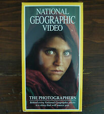 NATIONAL GEOGRAPHIC VIDEO -- THE PHOTOGRAPHERS (Ⓒ1995) VHS (FACTORY SEALED)