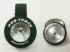 "Pro Track ""Classic"" 1 1/16"" x .435 wd Matching Rr & Ft 1/24 Slot Car Drag Tires"