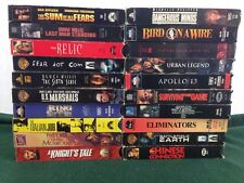 Lot Of 20 VHS Sci Fi / Action / Horror Movies Bruce Willis Rutger Hauer Ice T