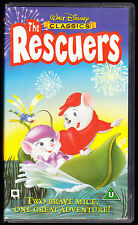WALT DISNEY CLASSICS - THE RESCUERS - VHS PAL (UK) VIDEO