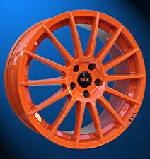 TEC by ASA AS2 race orange 7.5x17 ET45 LK5/114,3 Mazda Honda Toyota...