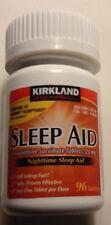 Kirkland Sleep Aid Doxylamine Succinate 25mg 96 Tabs compare to unisom sleeptabs
