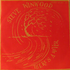 """STEVE WINWOOD - THERE'S A RIVER - TWO WAY STRETCH 7"""" SINGLE (F1327)"""