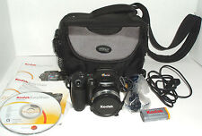Kodak EasyShare ZD710 7.1 MP Digital Camera - Black With Carrying Case