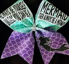 Cheer Bow - Mermaid - Glitter - Hair Bows