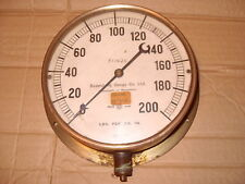 Budenberg Gauge Co. Ltd. 200 Lbs Per Sq. In. Pressure Gauge - As Photo