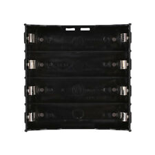 Storage Box Holder Case For 4x Li-ion Lithium 18650 3.7V Battery With Pin