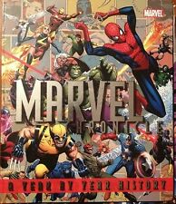 MARVEL CHRONICLE HC w/ Lithograph Set & Slipcase ~ Wolverine Captain America +++