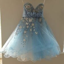 Sherri Hill Sequin party Dress Uk Size 6/8 Genuine
