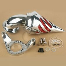 Chrome Air Cleaner Kits Intake Filter For Harley CV Carburetor Delphi V-Twin New