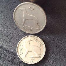 Irish / Eire pre decimal & pre Euro sixpence.& threepence, 2 coins, free Uk P&P