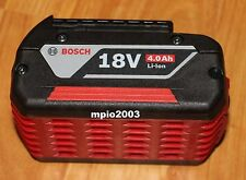 NEW Bosch 18 Volt BAT620 FatPack Battery 18V Li-Ion 4.0Ah W/Fuel Gauge