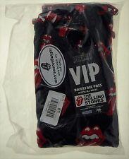 Rolling Stones Black/Red Pajama Bottoms XL Classic Tongue 2005 Rockware NIB