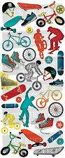 Fun Stickers SKATEBOARDS & BMX 832 For Children Fun Activities Craft ..