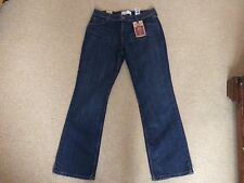 New Ladies Levi Strauss Signature Mid Rise Boot Cut Stretch Jeans Size UK 14