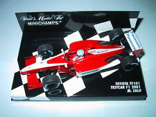 Minichamps F1 1/43 PANASONIC TOYOTA TF101 TEST CAR 2001 MIKA SALO