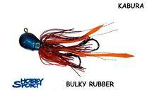 KABURA BULKY RUBBER TESTA BLU  80 GR - SKIRT ROSSO