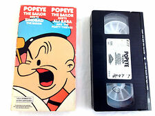 Popeye Meets Sinbad The Sailor VHS Animated Cartoon Meets Ali Baba & Forty Thiev