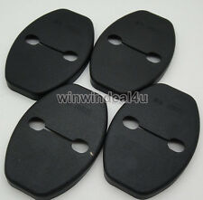 4PCS DOOR STRIKER COVER FOR VW VOLKSWAGEN TIGUAN GOLF 6 PASSAT POLO AUDI Q5 Q3
