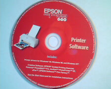 CD Epson Stylus Color 660 Printer drivers for Windows Creative ArcSoft PhotoMax