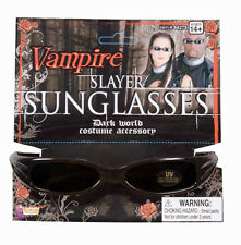 Vampire Slayer Sunglasses Gothic Blade Fancy Dress Halloween Costume Accessory