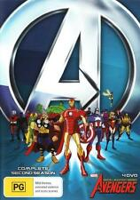 The Avengers: Earth's Mightiest Heroes! - Season 2  - DVD - NEW Region 4