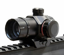 1x22 Rosso e Verde Dot Sight/parralax gratuito Tactical Pistola/Fucile Mirino Fit 20mm RAIL