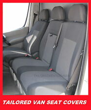 Tailored seat covers  for Mercedes Sprinter 2006 - onwards  2 + 1 grey