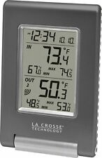 La Crosse Technology WS-9080U-IT Wireless IN/OUT Temperature Station featuring A