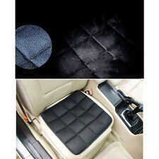 Black Bamboo Charcoal Breathable Seat Cover Cushion Car Pad Sponge Green Therapy