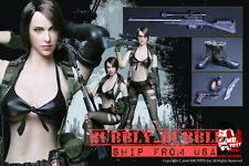 1/6 Metal Gear Solid Quiet Sexy Female Sniper Military Set For Phicen ☆IN STOCK☆