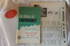 IN TIME OF EMERGENCY HANDBOOK NUCLEAR ATTACK CIVIL DEFENSE BELVIDERE 1968