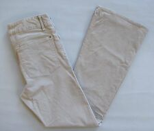 """Gap 1969 Perfect Boot Corduroy Pants 31 12 Stretch Cord Frosty Morning Beige 32"""""""