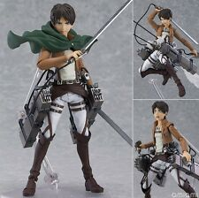 "New Hot Attack on Titan Eren Jaeger Figure 6""  Xmas Gift Toys Collection #315"