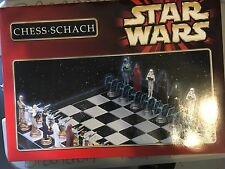 Star Wars Chess Schach Set German Version Never Used