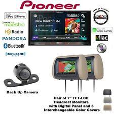 Pioneer AVH-4100NEX CD DVD Receiver 2 CLS700 Headrest Monitors & Backup Camera