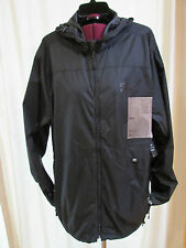 NWT RVCA SPORT MMA BJ PENN windbreaker fighter jacket size XL black 1590-97