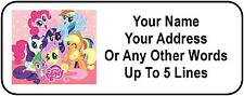 30 My Little Pony Personalized Address Labels