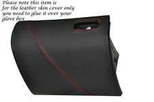 RED STITCH GLOVE BOX LID LEATHER SKIN COVER FITS MITSUBISHI GTO 3000GT 92-99