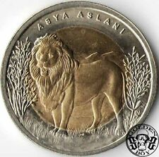 "Turkey 1 lira 2011 ""Lion""  UNC"