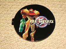NINTENDO GAMECUBE METROID PRIME OFFICIAL CONSOLE NAMEPLATE LID INSERT NEW & RARE
