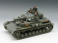 KING & COUNTRY FIELDS OF BATTLE FOB039 BLITZKRIEG PANZER IV TANK SET MIB