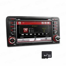 "7"" Car Radio Auto Stereo DVD Player MP3 GPS Navigation Bluetooth for AUDI A3 S3"