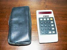 Vintage Corvus 310 Red LED 8-Digit Display RPN Calculator in Working Condition
