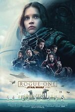 "ROGUE ONE A STAR WARS STORY 2016 Original Ver C Final DS 27x40"" US Movie Poster"